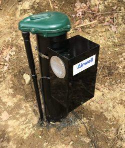 radon in water airwell